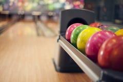 Bowlingbana Royaltyfri Fotografi