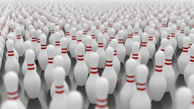 Bowlingben Arkivfoto