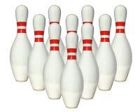 Bowlingben Royaltyfri Fotografi