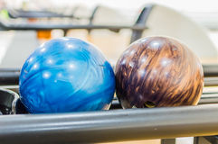 Bowlingklot. Arkivbilder