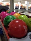 Bowlingklot Arkivbilder