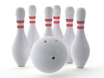 Bowlingklot Royaltyfri Illustrationer