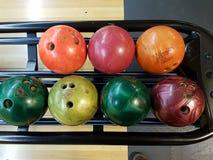 Bowlingkugeln Stockbild