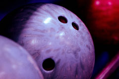 Bowlingkugeln Stockfotografie