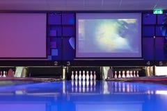 bowlingmitt Arkivbild