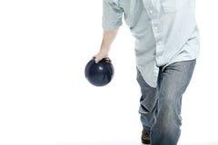 Bowlingspeler Royalty-vrije Stock Fotografie