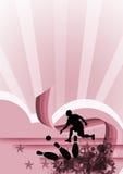 Bowlingspiel Stockbilder
