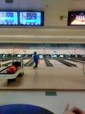 bowlingspiel Lizenzfreies Stockfoto
