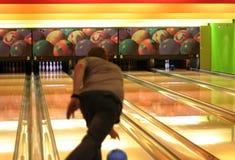 Bowlingspiel Lizenzfreie Stockbilder