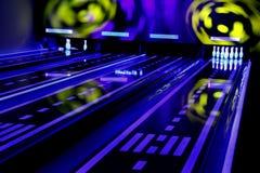 Bowlingspiel des 21. Jahrhunderts Lizenzfreie Stockfotografie