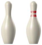 Bowlingspiel Pin Lizenzfreie Stockbilder