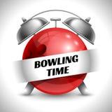 Bowlingspiel-Zeit Lizenzfreies Stockbild