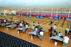 Bowlingspielklumpen lizenzfreie stockbilder