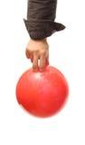 Bowlingspielkugel Lizenzfreie Stockfotos