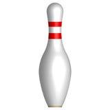 Bowlingspielstift Stockfotografie