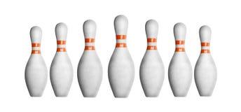 Bowlingspielstifte Lizenzfreie Stockfotos