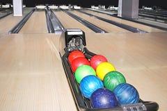 Bowlingspielverein Lizenzfreie Stockfotografie