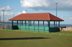 Bowlingspielvereinschutz Stockbild