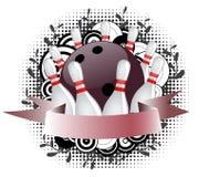 Bowlingspielzeichen Vektor Abbildung