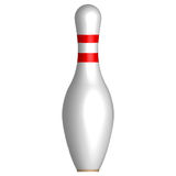 Bowlingstift Arkivbild