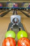 Bowlong balls Royalty Free Stock Images