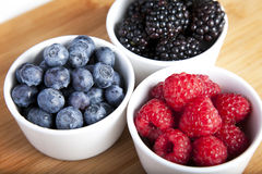 Bowls of Berries Stock Image