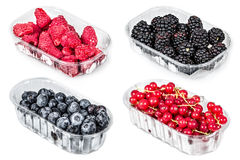 Bowls with berries Royalty Free Stock Photo
