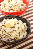 Bowls Of Cooked Rice Royalty Free Stock Image