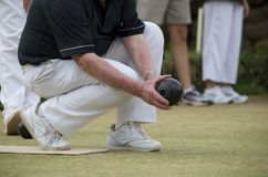 Bowls Game Royalty Free Stock Photos
