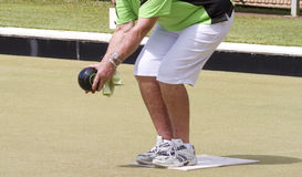 Bowls or lawn bowls Stock Photos