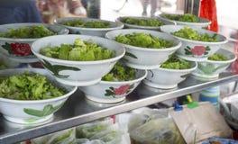 Bowls of Penang laska Royalty Free Stock Images