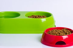 Bowls for pets Stock Images
