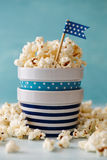 Bowls of Popcorn Royalty Free Stock Photos