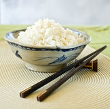 Bowls of rice Stock Photo