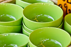 Bowls for sale Royalty Free Stock Photo