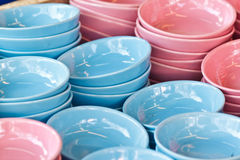 Bowls for sale Stock Photo