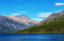 Bowman湖 免版税库存图片