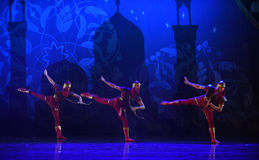 """Bowman- ballet """"One Thousand and One Nights"""" Royalty Free Stock Photos"""