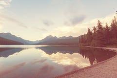 Bowman lake Stock Images