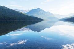 Bowman lake Royalty Free Stock Images