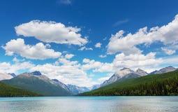 Bowman lake Stock Image