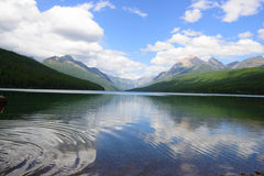 Bowman lake Royalty Free Stock Image