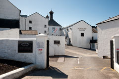 Bowmore distillery Royalty Free Stock Images