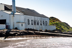 Bowmore distillery Royalty Free Stock Image