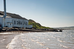 Bowmore distillery Stock Photo
