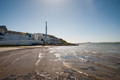 Bowmore distillery. On the isle of Islay stock photos