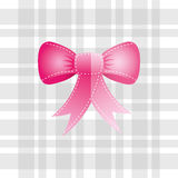 Bown pink design Stock Photography