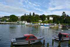 Bowness na Windermere Obrazy Royalty Free