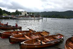 Bowness op Windermere Royalty-vrije Stock Foto's