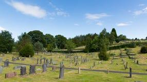 Bowness sur le secteur Cumbria Angleterre R-U de lac de cimetière de Windermere Photo stock